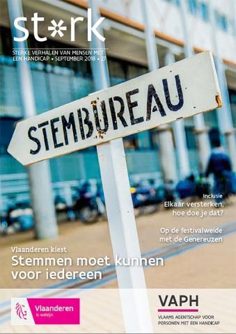 Cover van Sterk nr. 27.