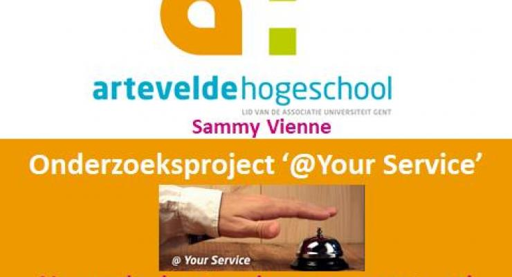 eerste slide presentatie evaluatie PVF @Your Service