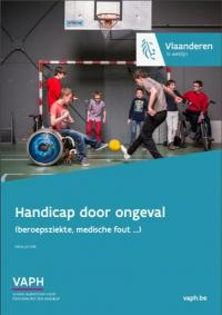 cover brochure 'handicap door ongeval'